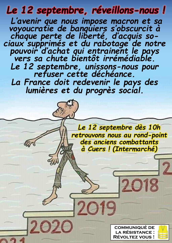 Appel 12 septembre
