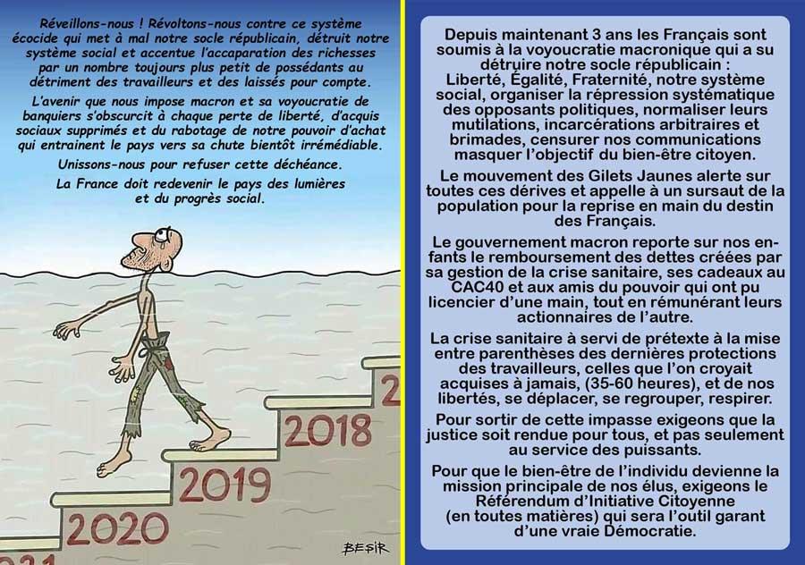 Flyer recto Verso